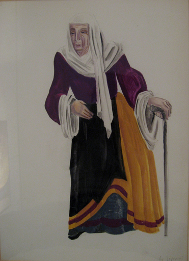 Gino SEVERINI - Painting - Sabatina, 1939