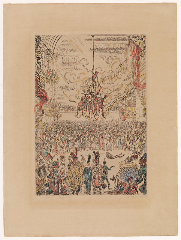 James ENSOR - Print-Multiple - La vengeance de Hop-Frog