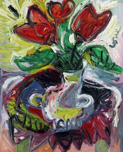 Thierry LOULÉ - Pintura - Tulipe d'été