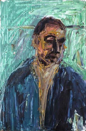 Alex KREMER - Pintura - Self-portrait