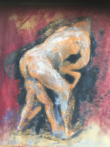 Gerrit VAN NET 'T - Drawing-Watercolor - Murderous Muse