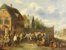 David II TENIERS (Attrib.) - Painting - Kermess Festival