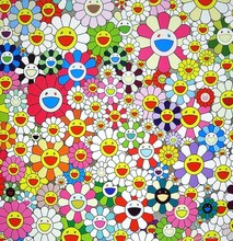 Takashi MURAKAMI - Grabado - Maiden in the Yellow Straw Hat
