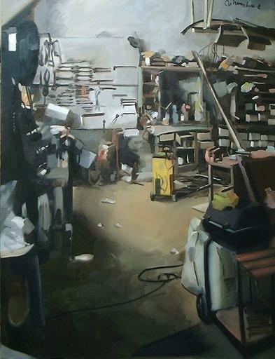 Christoff DEBUSSCHERE - Pintura - L'atelier de Chatillon