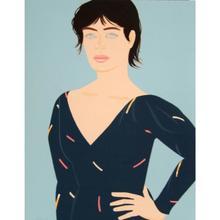 Alex KATZ - Grabado - Grey Dress