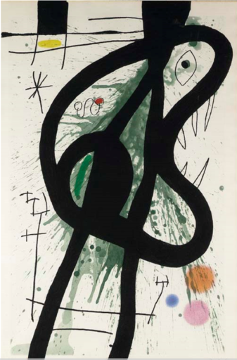 Joan MIRO - Print-Multiple - Le Grand Carnassier