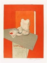 弗朗西斯•培根 - 版画 - Study of a human body after Ingres