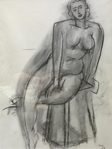 亨利·马蒂斯 - 版画 - Nude