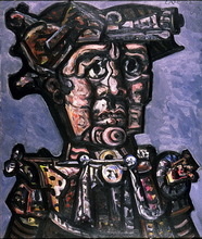 José Otero Abeledo LAXEIRO - Peinture - PERSONAJE DEL DEZA