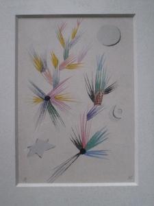 Hans REICHEL - Dessin-Aquarelle - COMPO 1935