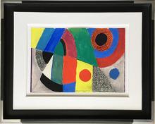 Sonia DELAUNAY-TERK - Drawing-Watercolor - Rythme en couleur
