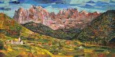 Iris BAND - Pintura - Dolomiten