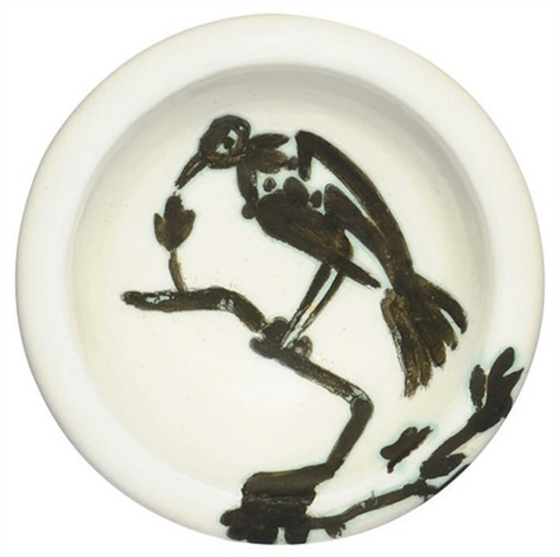 Pablo PICASSO - Ceramiche - Oiseau sur la branche