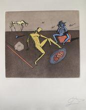 Salvador DALI (1904-1989) - THE MIRROR OF CHIVALRY