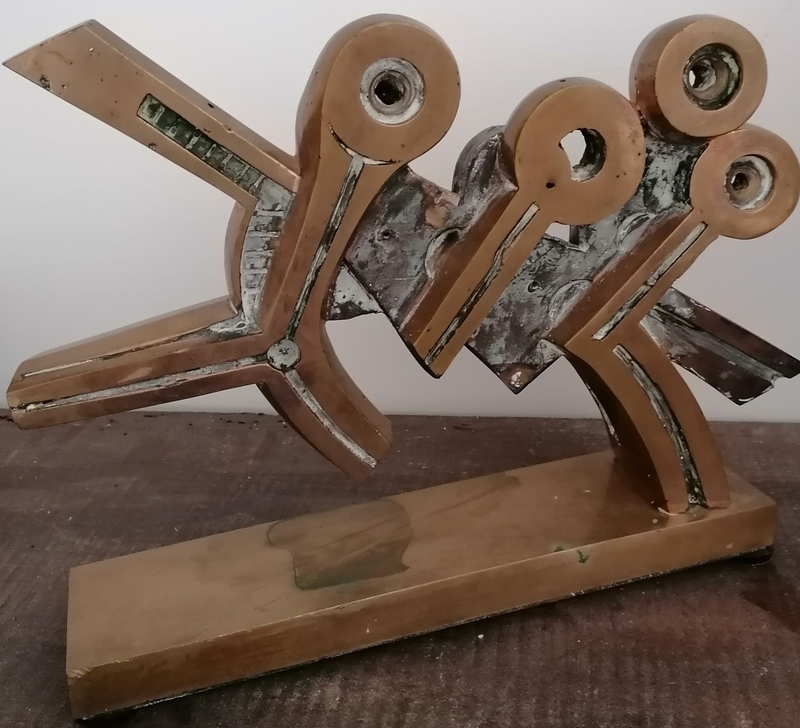 Umberto MASTROIANNI - Sculpture-Volume - DANZA AFRICANA 2