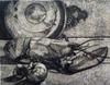 Roland CABOT - Grabado - Still Life with Lobster / Nature Morte au Homard