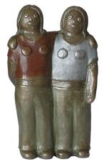 Eva ROUWENS - Escultura - Les jumelles