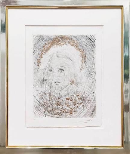 萨尔瓦多·达利 - 版画 - Portrait de Marguerite – Bildnis Gretchen