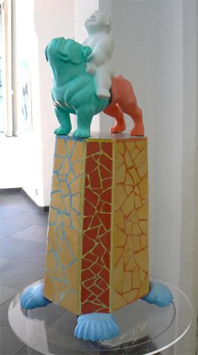 WAL - Skulptur Volumen - Cavaliere errante