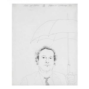 David HOCKNEY - Print-Multiple - The Restaurateur