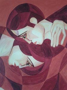 Edith STÜTZ - Peinture - LIEBENDE