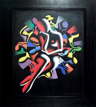 Mark KOSTABI - Pintura - Spin The Lady