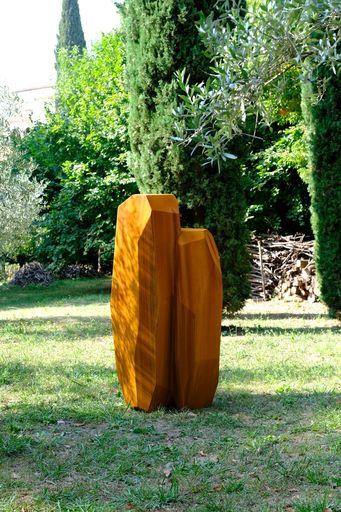 Arik LEVY - Sculpture-Volume - RockStoneFusionVertical 180 Corten