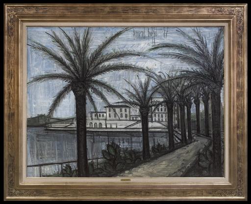 Bernard BUFFET - Pittura - Le Port de Beaulieu