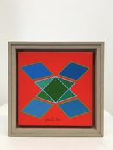 """Achille PERILLI - Painting - """"Treppa"""""""