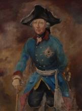 Wilhelm KOHLHOFF - Painting - Friedrich der Große