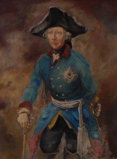 Wilhelm KOHLHOFF - Pintura - Friedrich der Große