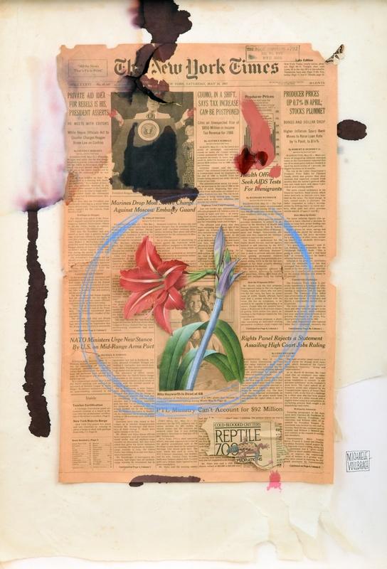 Michael VOLLBRACHT - Pittura - Michaele Vollbracht Mixed-Media, Original Work