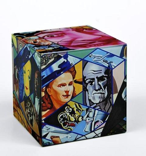 小野洋子、爱罗 - 雕塑 - Dali's Cube