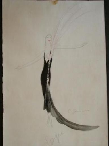 Charles Carl GESMAR - Peinture - Mistinguett