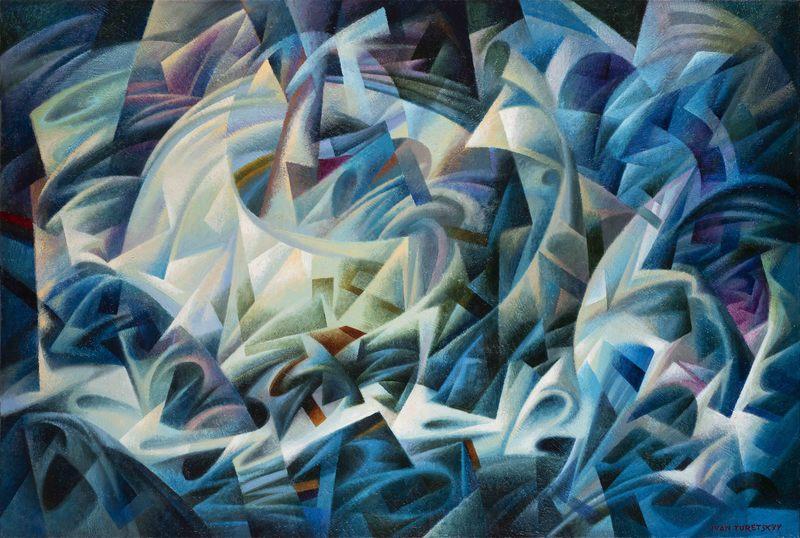 Ivan TURETSKYY - Peinture - Storm