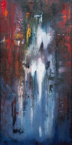 Danielle MAILLET-VILA - Painting - Fin