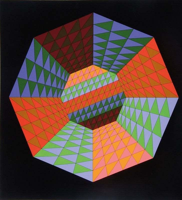 Victor VASARELY - Estampe-Multiple - untitled