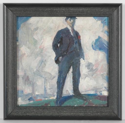 "Michail BOZHIJ - Peinture - ""Lenin"" by Michail Bozhij, ca 1960"