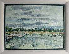 Georges YOLDJOGLOU - Painting - Le pont de la Concorde