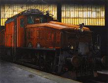 Sergio ANDREOLI - Pintura - Caimano in agguato