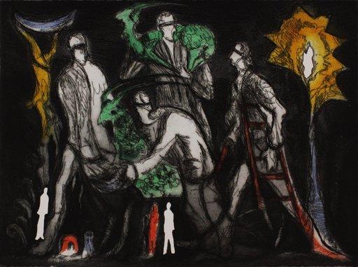 Roberto BARNI - Estampe-Multiple - Untitled