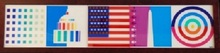 Yaacov AGAM - Print-Multiple - Spirit of America (Dynamograph Series)