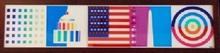 Yaacov AGAM - Estampe-Multiple - Spirit of America (Dynamograph Series)