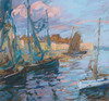 Charles Henry FROMUTH - Drawing-Watercolor - Concarneau