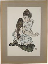 Egon SCHIELE (1890-1918) - Egon Schiele: Handzeichnungen