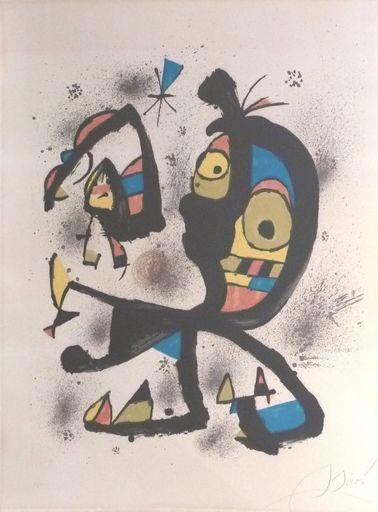 Joan MIRO - Estampe-Multiple - Pour exposition Joan Miro Obra Grafica Fundacio Joan Miro