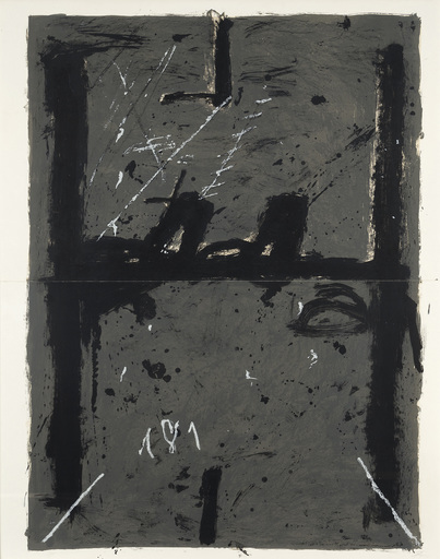 Antoni TAPIES - Print-Multiple - La Grande Grise