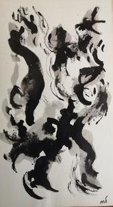 Marcel DUMONT - Dessin-Aquarelle - Abstraction