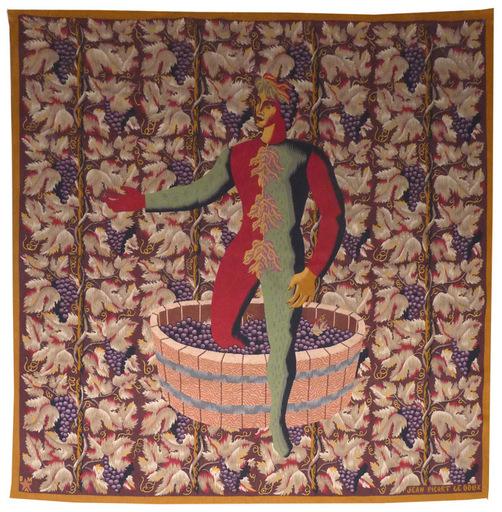 Jean PICART LE DOUX - Tapestry - Les raisins