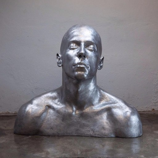 CODERCH & MALAVIA - Sculpture-Volume - The Swimmer Aluminium